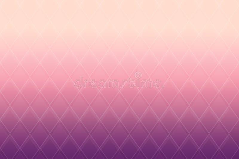 Couleur en pastel abstraite de gradient avec la ligne onduleuse de table pour le backgroud illustration libre de droits