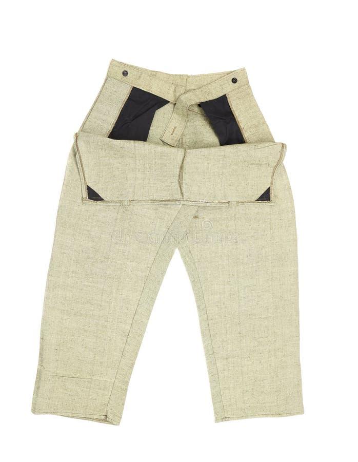 Couleur fonctionnante de gris de pantalon. images libres de droits