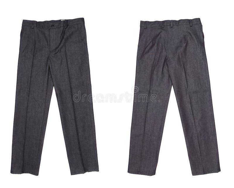 Couleur fonctionnante de noir de pantalon. photo libre de droits
