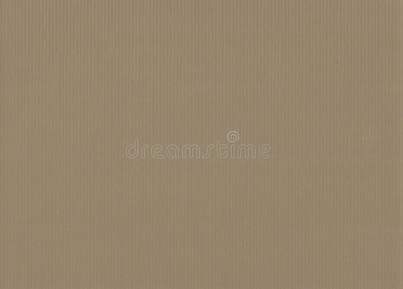 Couleur olive beige brune colorée ondulée de cru de carton r illustration de vecteur
