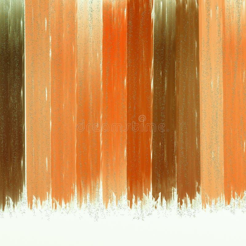 Couleur swatched sur le fond texturisé Fond abstrait avec le scintillement de relief Effets de brûlure de couleur illustration libre de droits