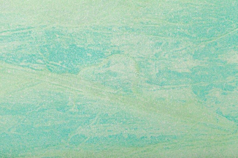 Couleur vert clair de fond d'art abstrait Peinture multicolore sur la toile Fragment d'illustration contexte de texture décoratif photographie stock