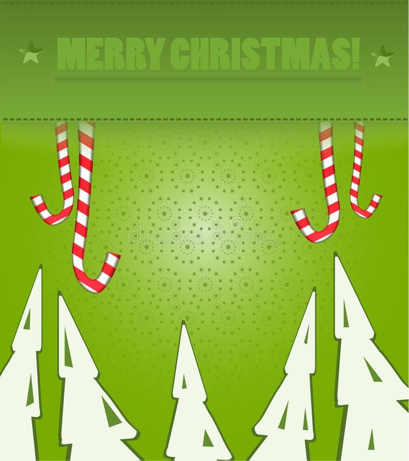 Couleur verte de fond de Noël photographie stock libre de droits