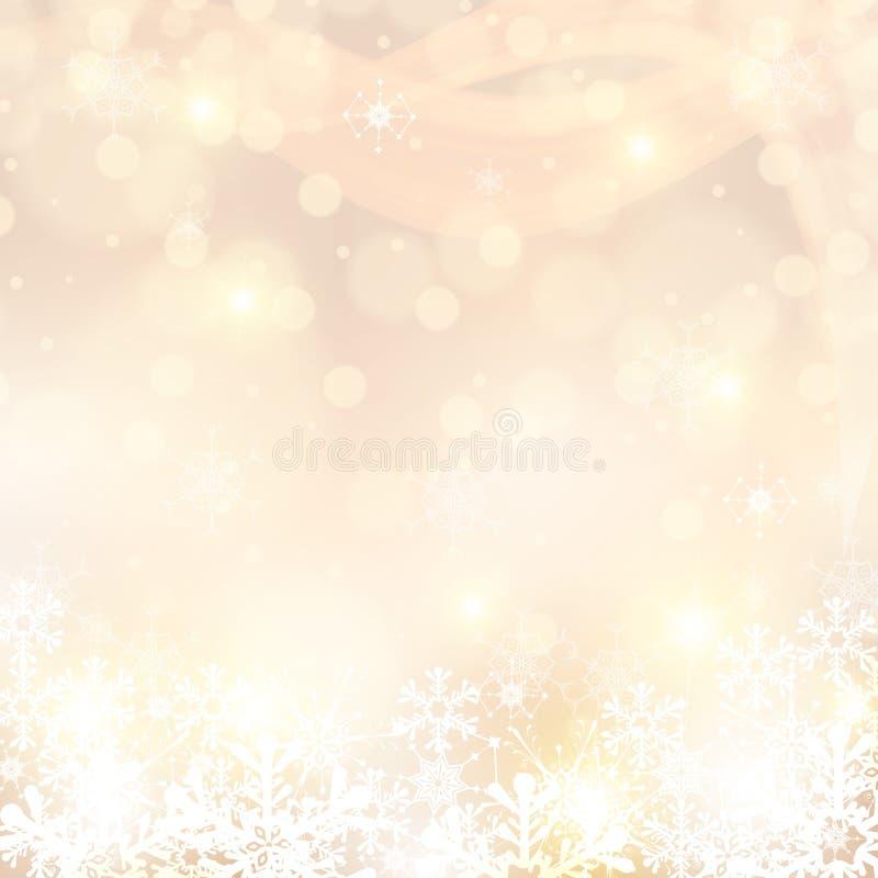 Couleurs claires abstraites d'hiver illustration de vecteur