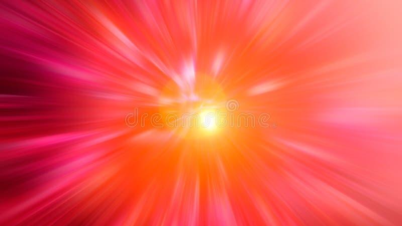 Couleurs claires abstraites de fond de couleur brouillées par radial rouges, rose, jaune, bleu, vert, pourpre images libres de droits