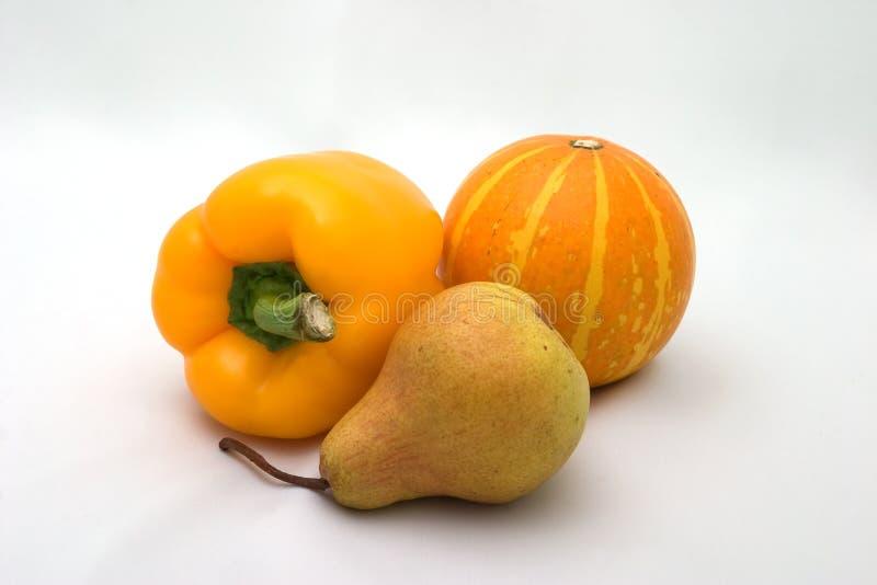Couleurs d'automne - légumes jaunes images stock