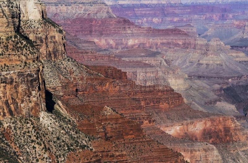 Couleurs de canyon grand images libres de droits