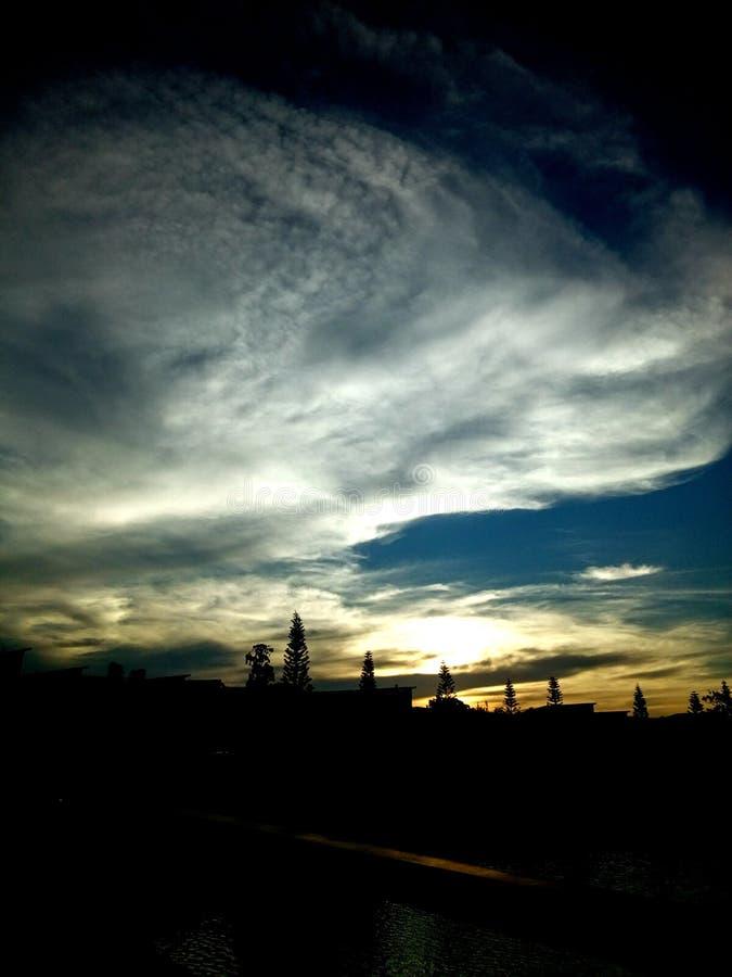 Couleurs de ciel images libres de droits