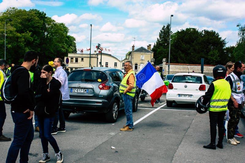 Couleurs de la France photo stock