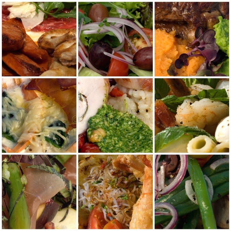 Couleurs de nourriture photographie stock