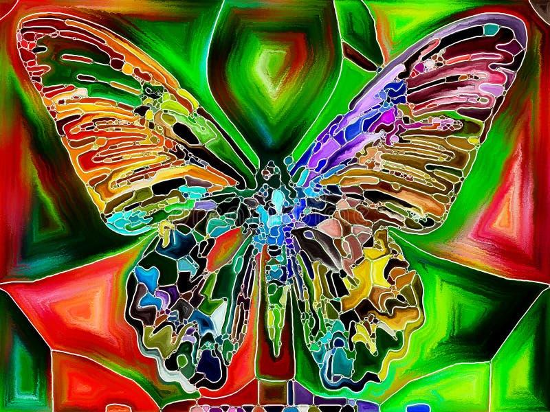 Couleurs de papillon illustration stock