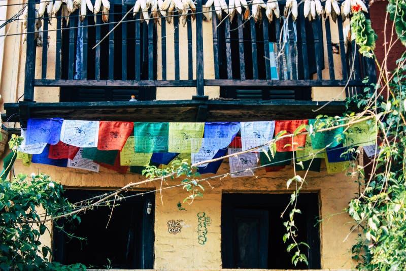 Couleurs du Népal image libre de droits