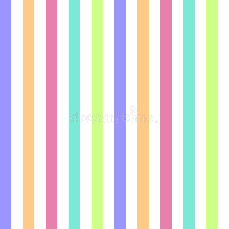 couleurs en pastel color es de rayure sans couture de mod le illustration verticale de vecteur. Black Bedroom Furniture Sets. Home Design Ideas