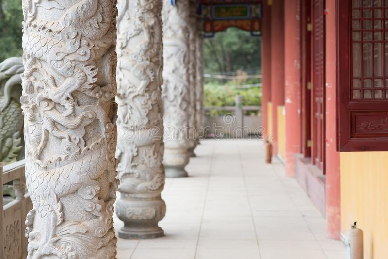 Couloir chinois classique photographie stock