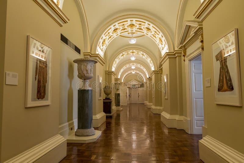 Couloir d'état de Dublin Castle photos stock