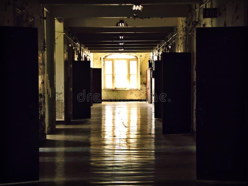 Couloir d'asile image stock