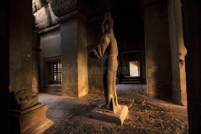 Download Couloir Dans Angkor Wat, Cambodge Image stock - Image du ruine, architecture: 77160169