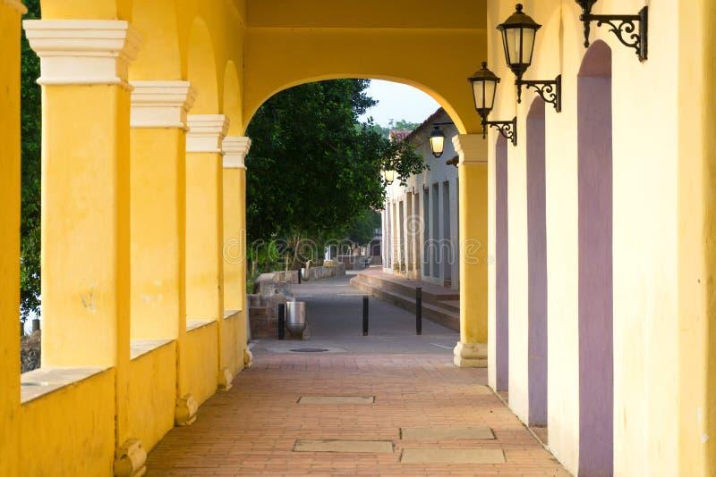 Download Couloir Dans Mompox, Colombie Image stock - Image du lanternes, santa: 77150829