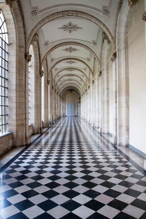 Couloir de château photos stock