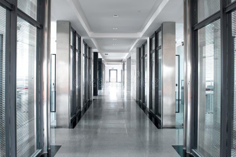 Couloir de pièce de bureau image libre de droits
