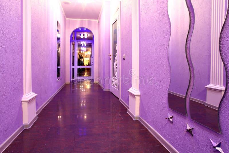 couloir de raseur-coiffeur image stock