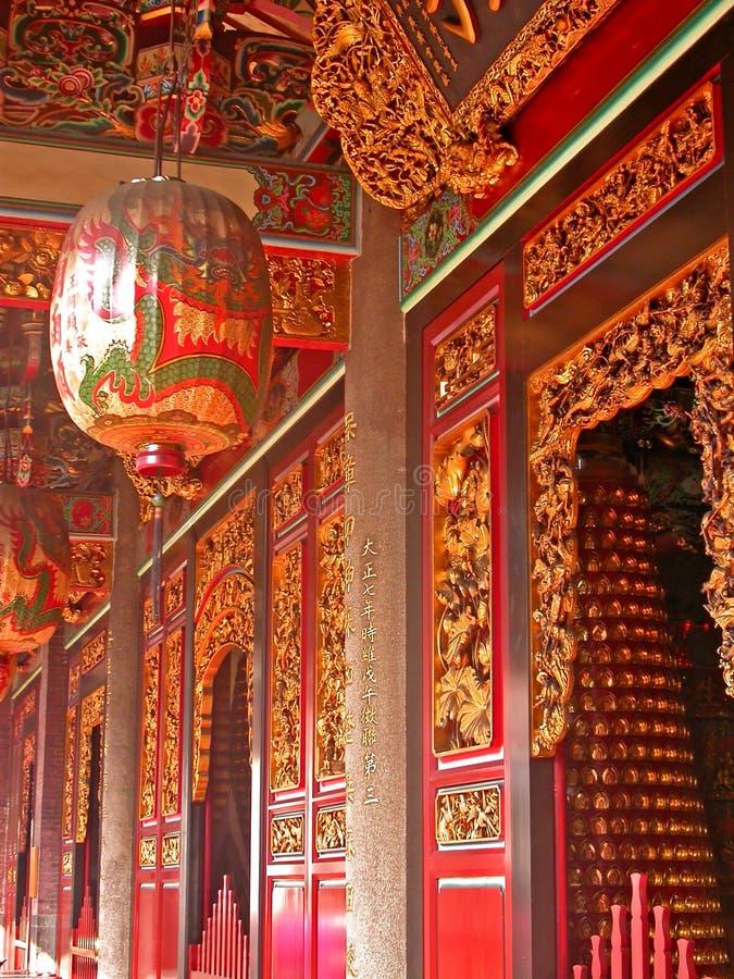 Couloir de temple image libre de droits