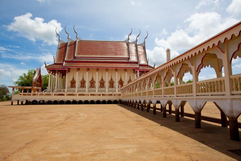 Couloir du temple images libres de droits