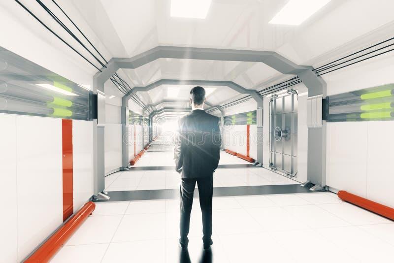 Couloir futuriste illustration stock