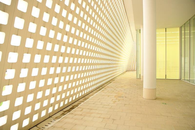 Couloir moderne photo stock
