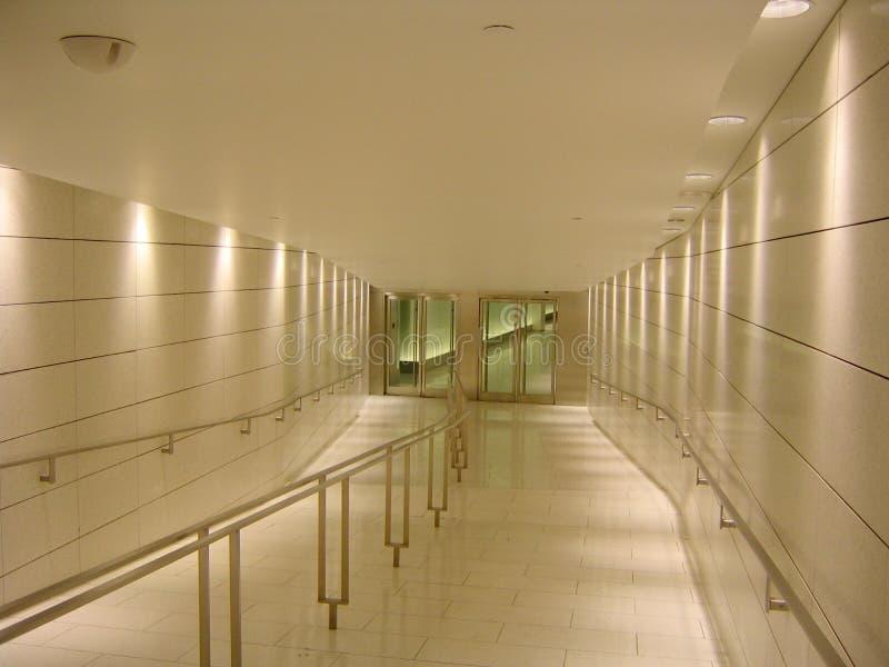 Couloir souterrain photo libre de droits