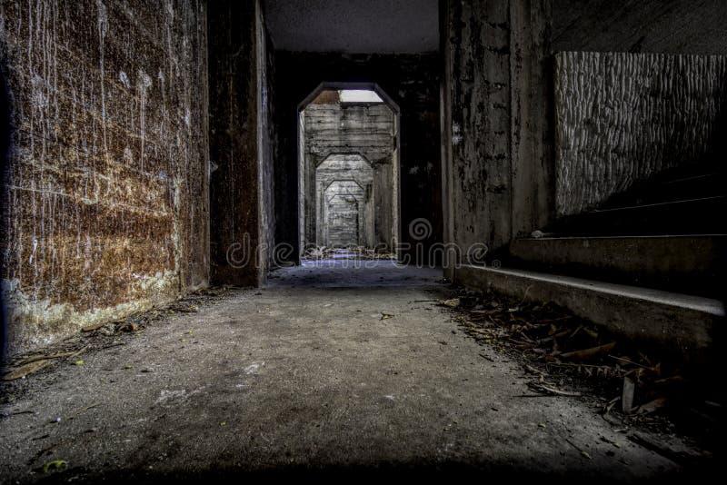 Couloirs d'horreur photos stock