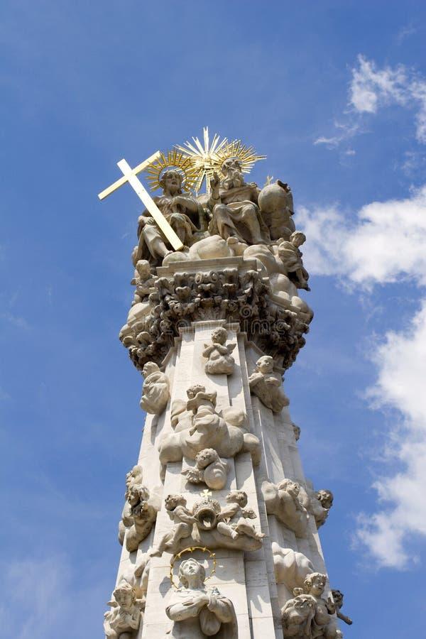 Coumn de trinité à Budapest photos libres de droits