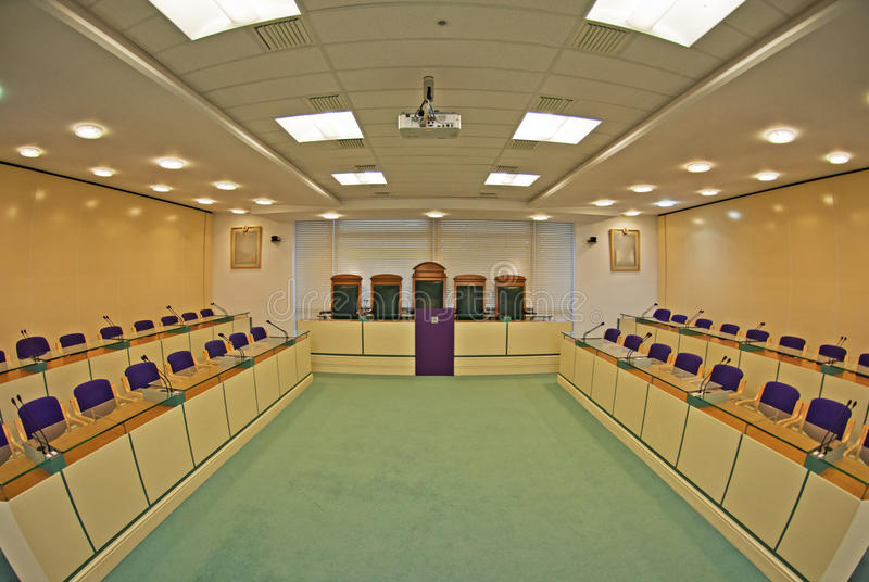 Council Chamber Royalty Free Stock Images