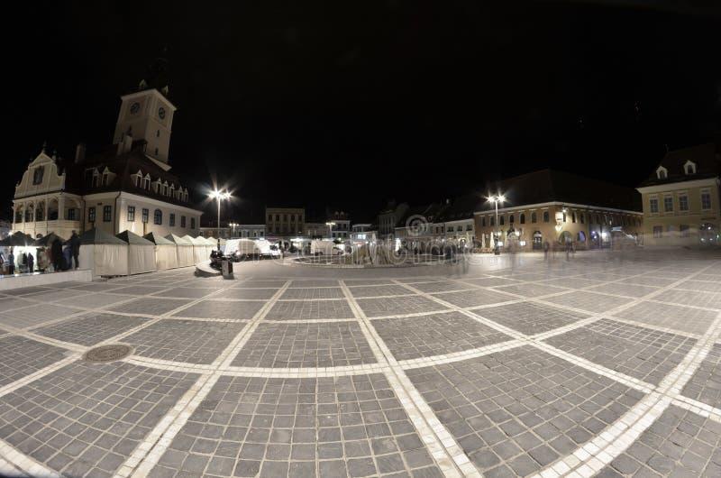 The Council Square Brasov Transilvania royalty free stock photo