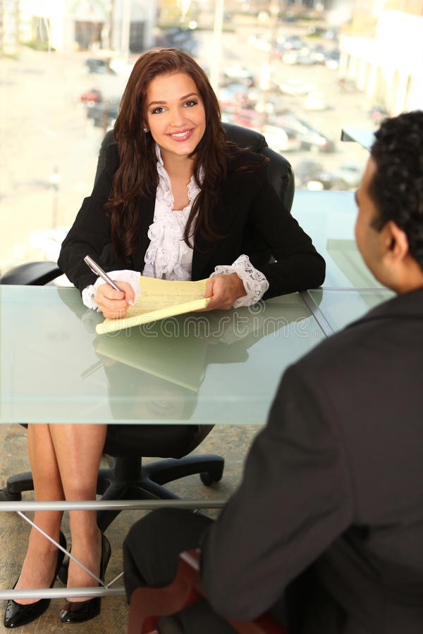 Counseling Clients stock photo