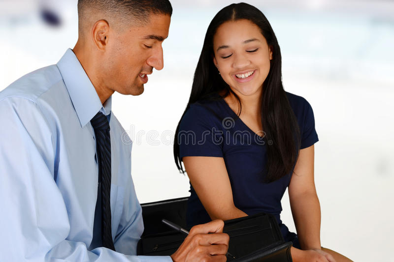 Counseling. Person in need having a counseling session royalty free stock photography
