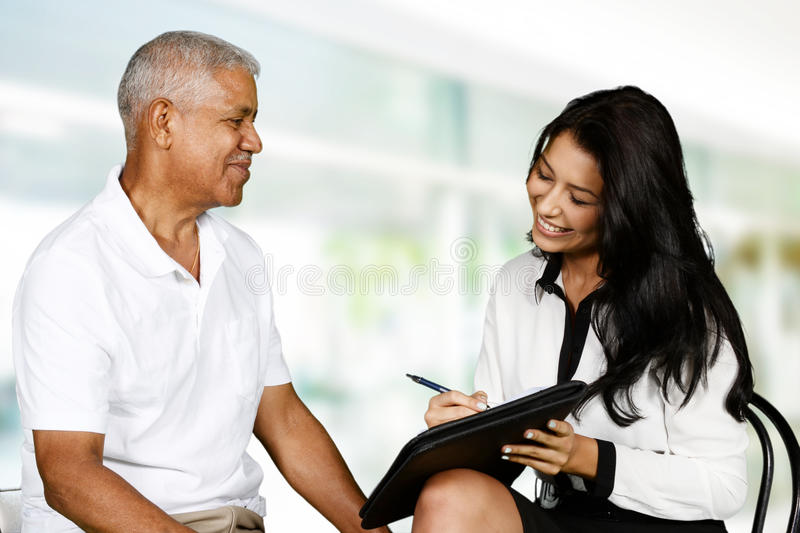 Counseling royalty free stock photos