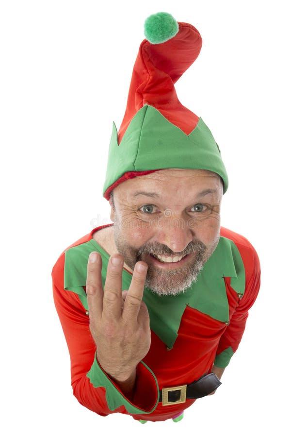Count-down bebauen Weihnachten Nr. drei lizenzfreie stockfotos
