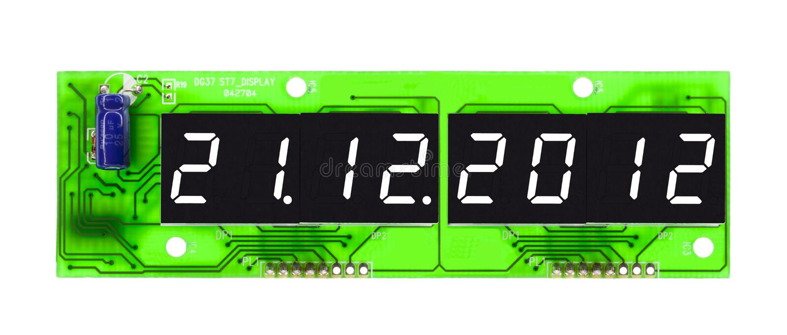 Download Countdown - Doomsday Preditction Stock Images - Image: 22868504