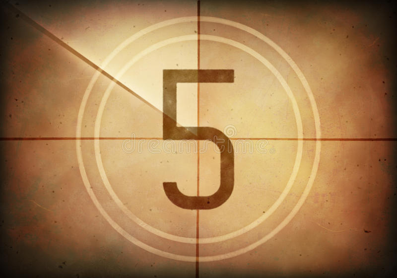 Download Countdown Five Stock Illustration - Image: 41600024