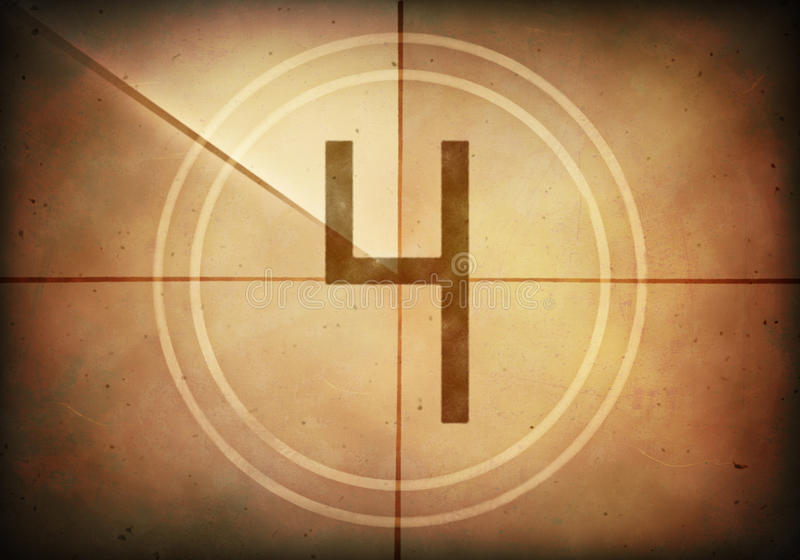 Download Countdown Four stock illustration. Image of countdown - 41600027