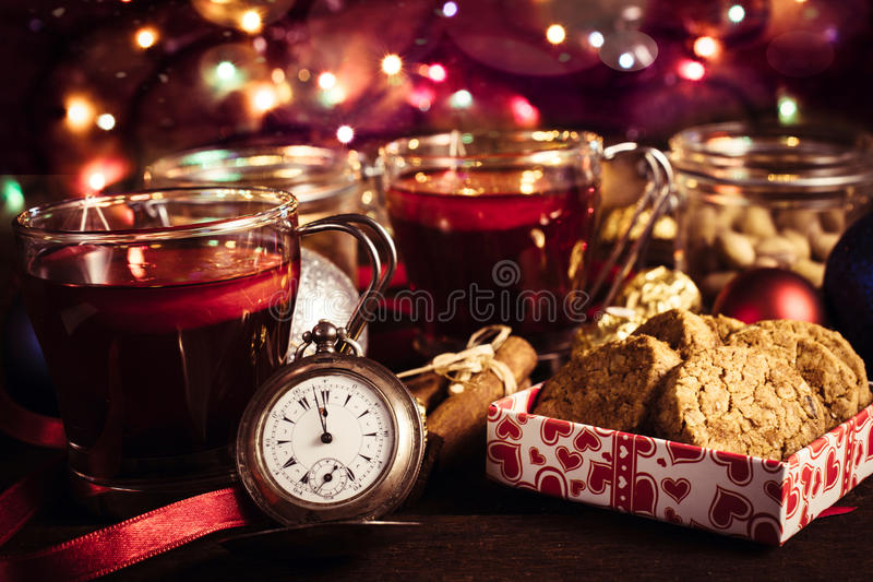Countdown New Year royalty free stock images