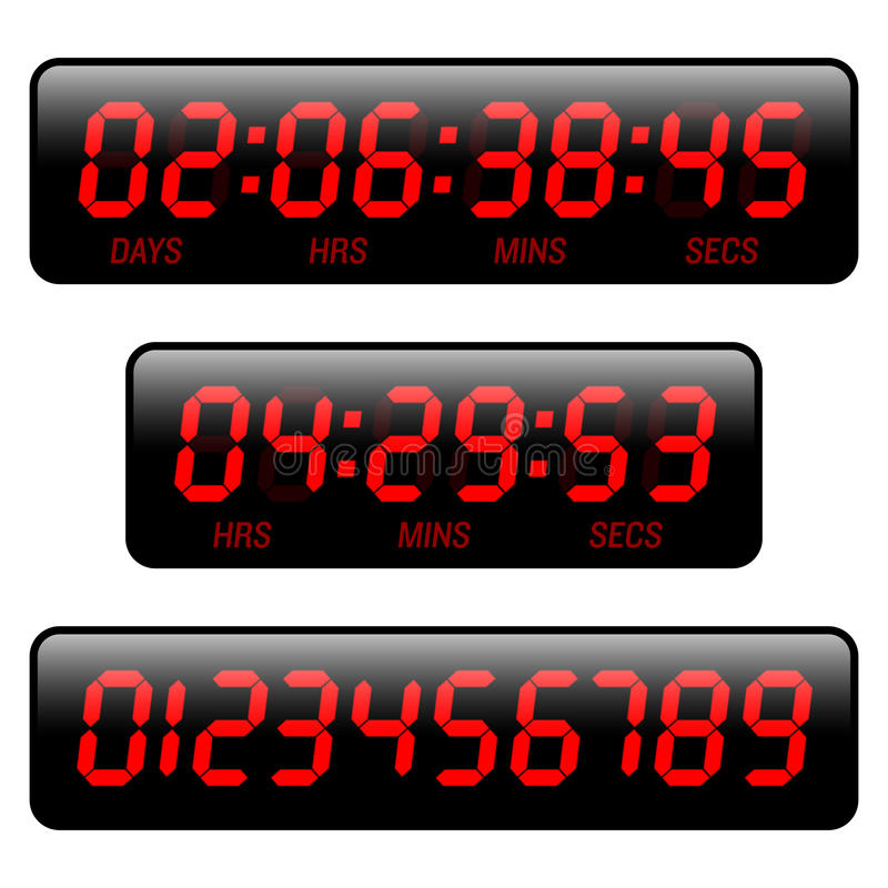 Download Countdown timer stock vector. Illustration of object - 20119535