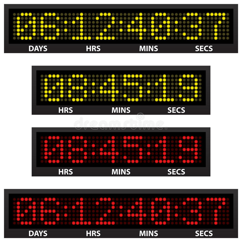 Download Countdown timer stock vector. Image of measurement, number - 22154891