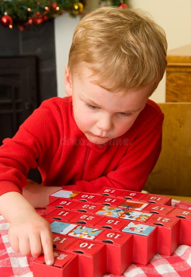 Countdown to Christmas royalty free stock photos