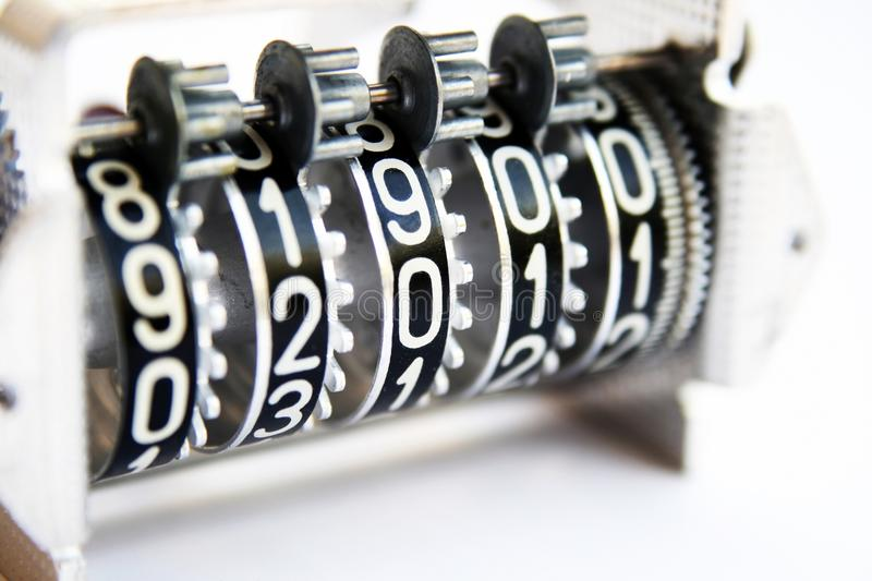 Download Counter stock image. Image of hour, mechanical, alphabet - 33437265