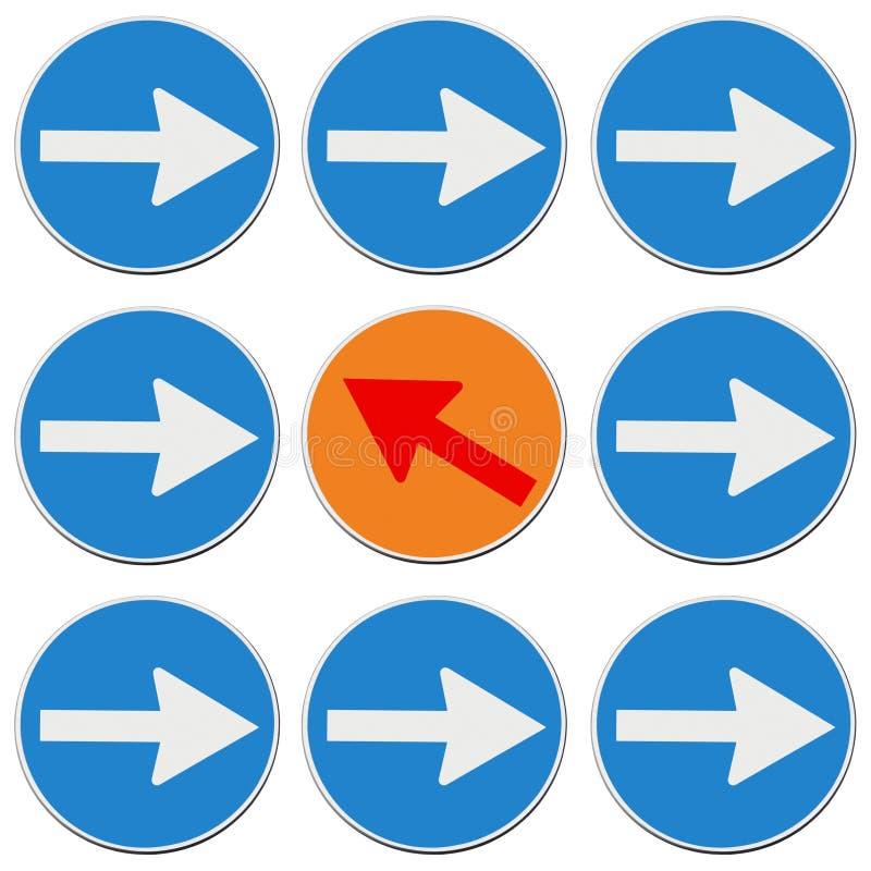 Countercurrent - pojęcie wizerunek ilustracji