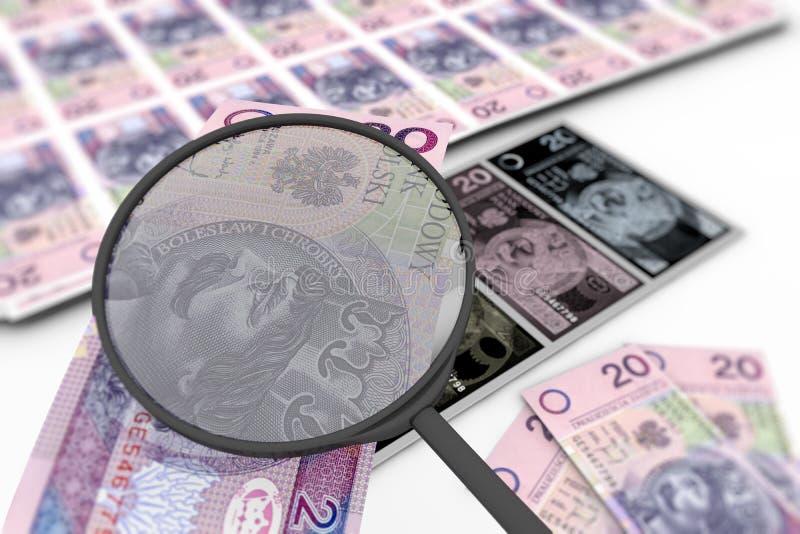 Download Counterfeit money stock illustration. Illustration of offset - 22171145