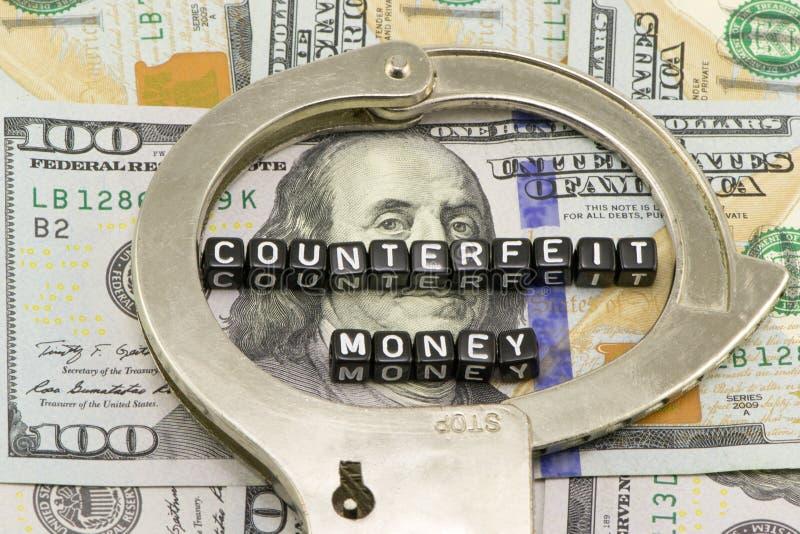 Counterfeit money royalty free stock image