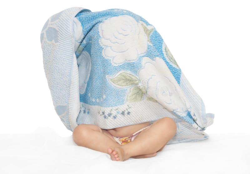 counterpane μωρών στοκ φωτογραφία με δικαίωμα ελεύθερης χρήσης